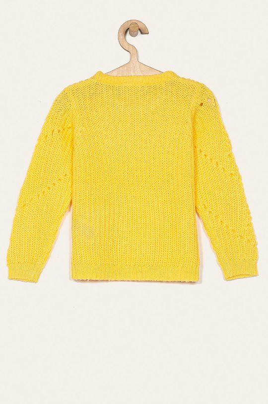 Name it - Detský sveter 116-152 cm svetložltá