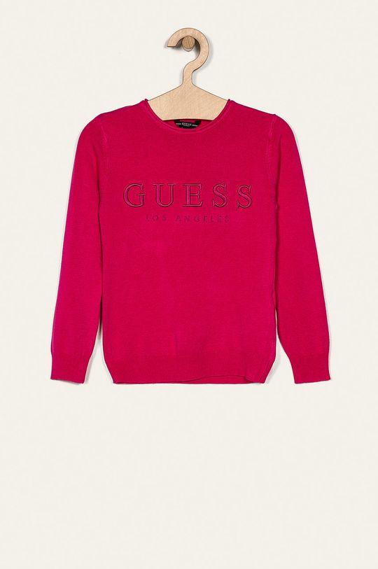 růžová Guess Jeans - Dětský svetr 118-175 cm Dívčí