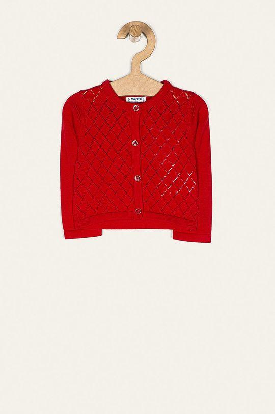 czerwony Mayoral - Kardigan dziecięcy 68-98 cm Dziewczęcy