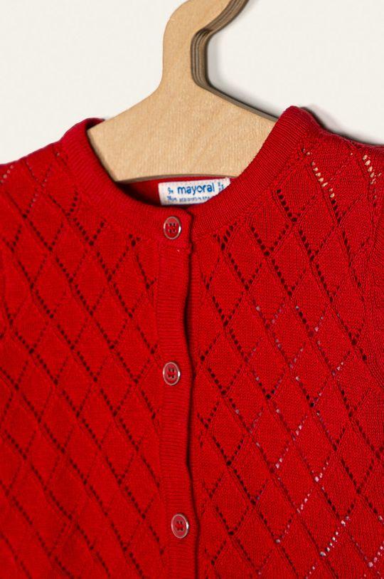 Mayoral - Kardigan dziecięcy 68-98 cm czerwony