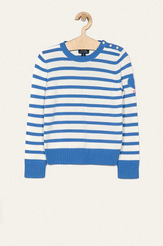 modrá Polo Ralph Lauren - Detský sveter 128-176 cm Dievčenský