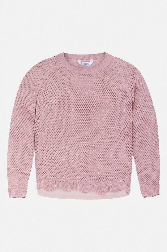 Mayoral - Pulover copii 128-167 cm roz