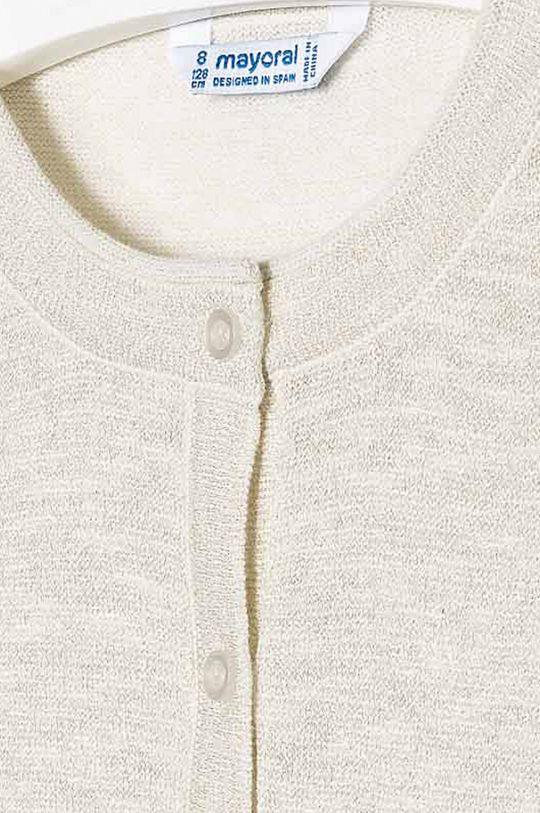 Mayoral - Detský sveter 128-167 cm  77% Bavlna, 15% Polyester, 8% Metalické vlákno