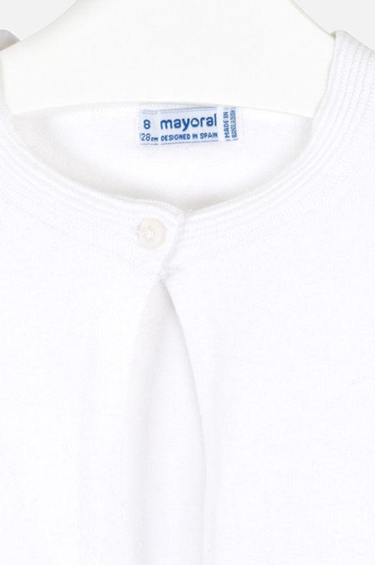 alb Mayoral - Cardigan copii 128-167 cm