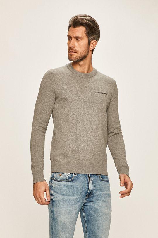 gri Calvin Klein Jeans - Pulover De bărbați