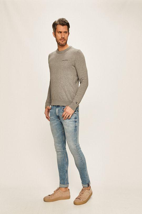 Calvin Klein Jeans - Pulover gri