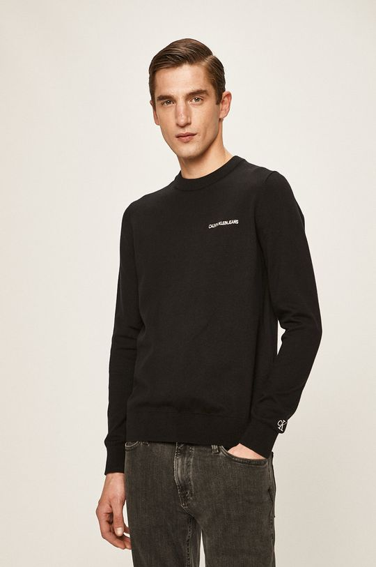černá Calvin Klein Jeans - Svetr Pánský