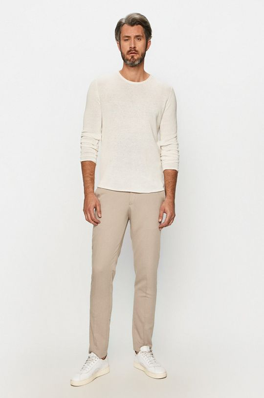 Premium by Jack&Jones - Sweter biały