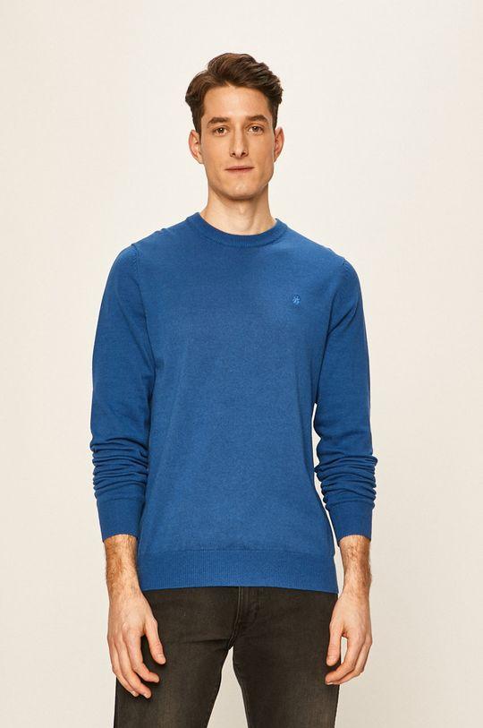 albastru Izod - Pulover De bărbați