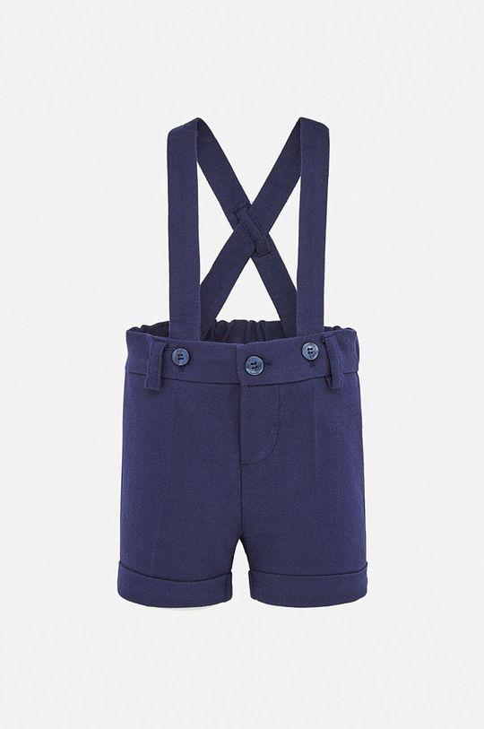 čierna Mayoral - Detské nohavice na traky 60-86 cm Chlapčenský