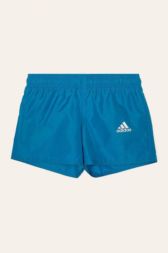 modrá adidas Performance - Dětské plavky 116-176 cm Chlapecký
