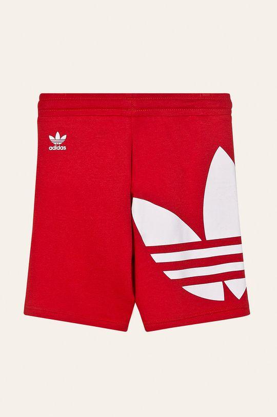 adidas Originals - Dětské kraťasy 128-164 cm červená