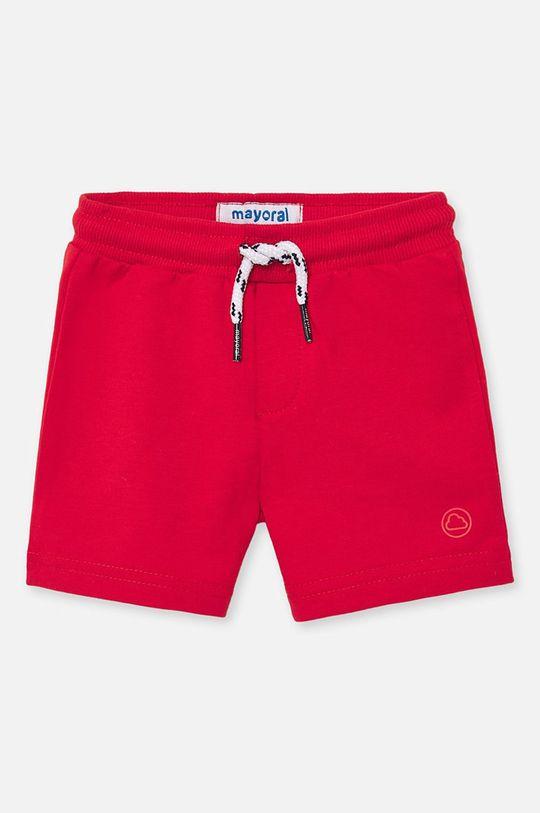 sýtočervená Mayoral - Detské krátke nohavice 68-98 cm Chlapčenský