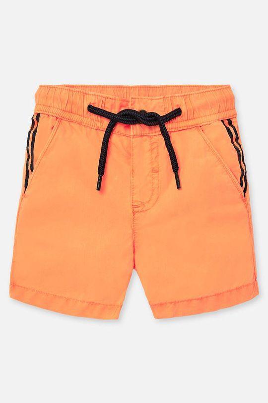 mandarínková Mayoral - Detské krátke nohavice 74-98 cm Chlapčenský