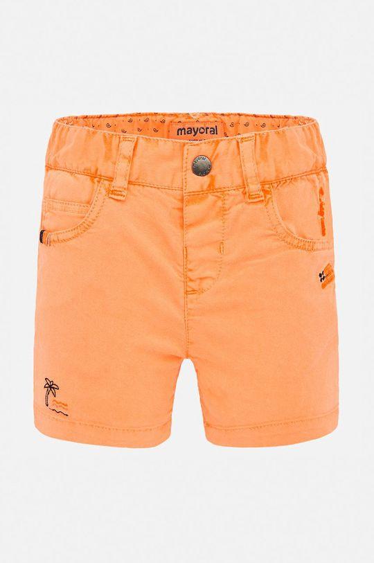 oranžová Mayoral - Dětské kraťasy 74-98 cm Chlapecký