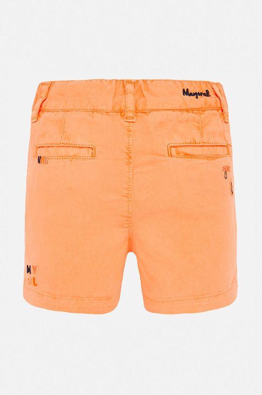 Mayoral - Dětské kraťasy 74-98 cm oranžová