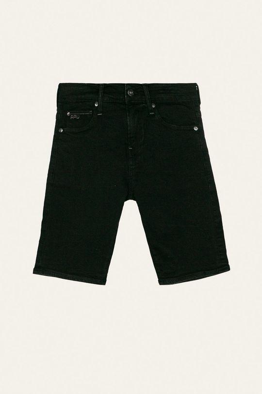 čierna G-Star Raw - Detské krátke nohavice 140-176 cm Chlapčenský