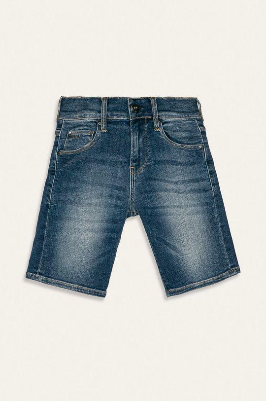 albastru metalizat G-Star Raw - Pantaloni scurti copii 128-176 cm De băieți