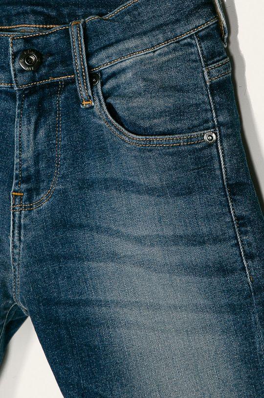 G-Star Raw - Pantaloni scurti copii 128-176 cm albastru metalizat