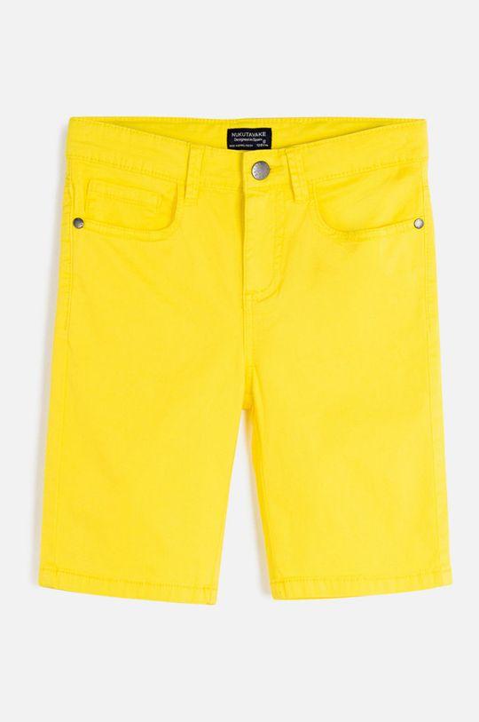 galben Mayoral - Pantaloni scurti copii 128-172 cm De băieți