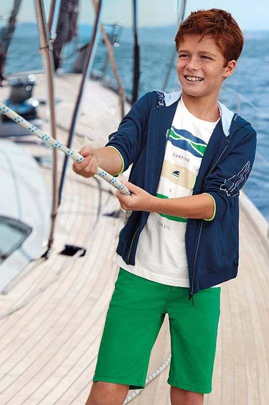 sýto zelená Mayoral - Detské krátke nohavice 128-172 cm Chlapčenský