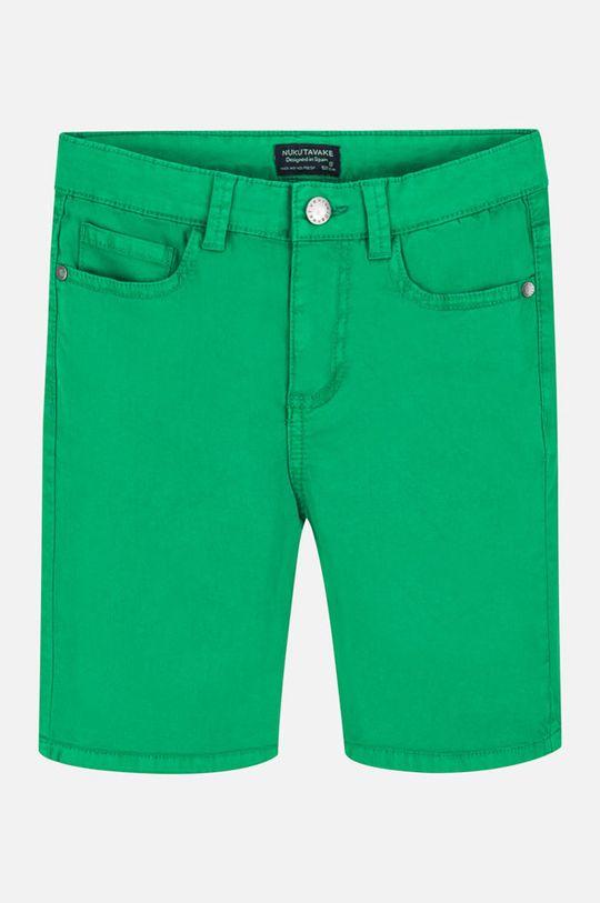 Mayoral - Detské krátke nohavice 128-172 cm sýto zelená