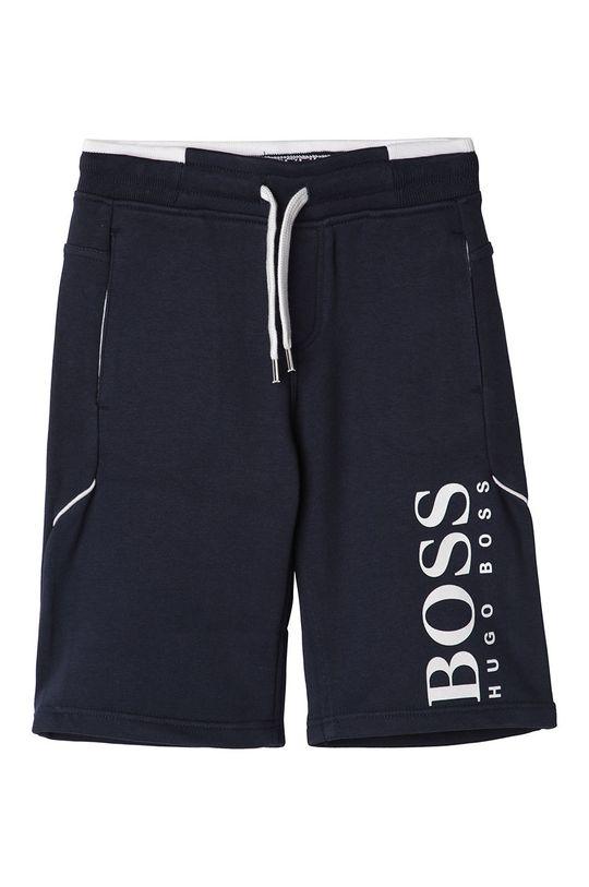 námořnická modř Boss - Dětské kraťasy 116-152 cm Chlapecký