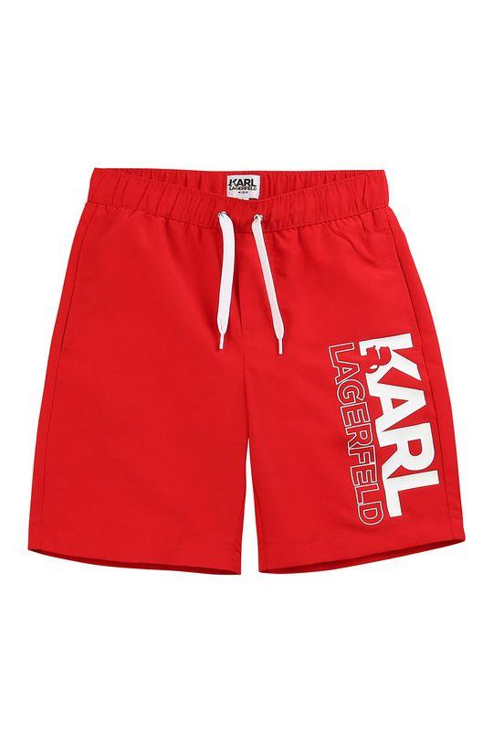 rosu Karl Lagerfeld - Pantaloni scurti copii 114-150 cm De băieți