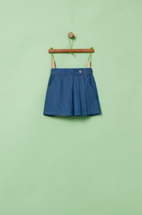 modrá OVS - Detské krátke nohavice 104-140 cm Chlapčenský