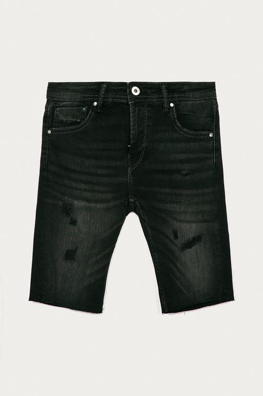 černá Pepe Jeans - Dětské kraťasy Destroy 128-180 cm Chlapecký