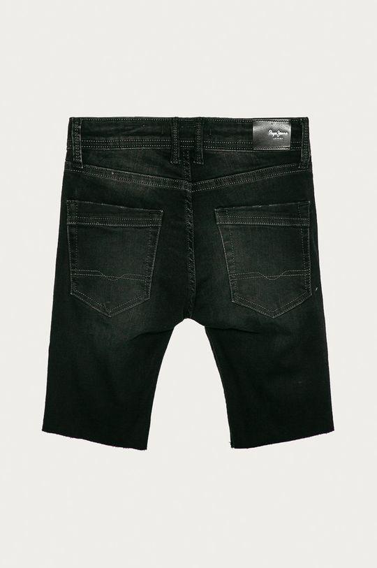 Pepe Jeans - Dětské kraťasy Destroy 128-180 cm černá