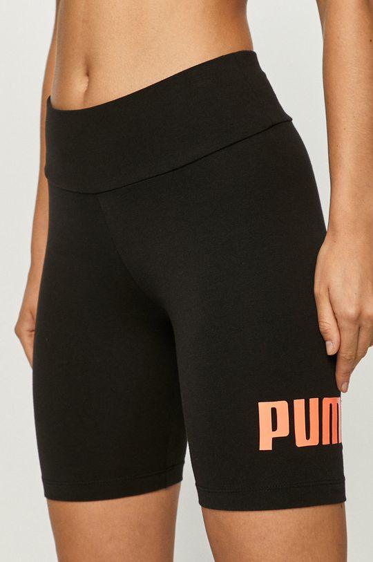 čierna Puma - Šortky Dámsky