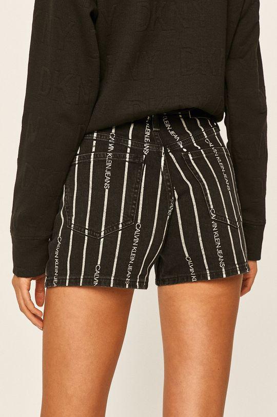 Calvin Klein Jeans - Pantaloni scurti jeans 99% Bumbac, 1% Elastan