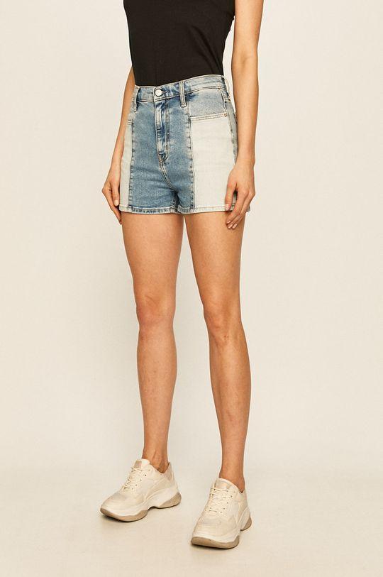albastru Calvin Klein Jeans - Pantaloni scurti jeans De femei