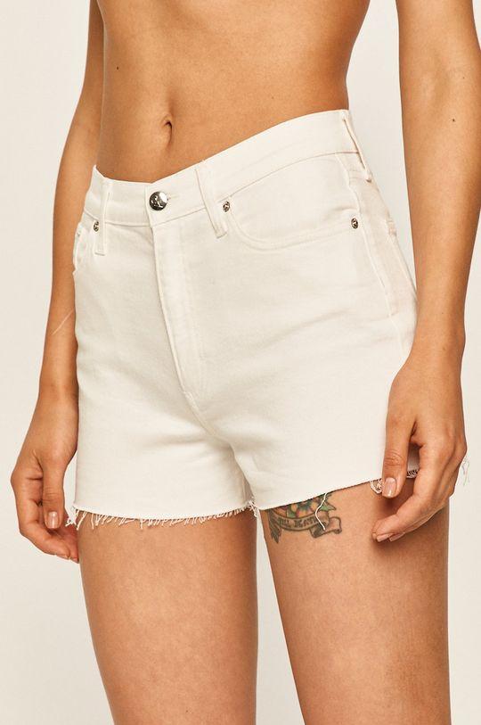 bílá Calvin Klein Jeans - Džínové šortky Dámský