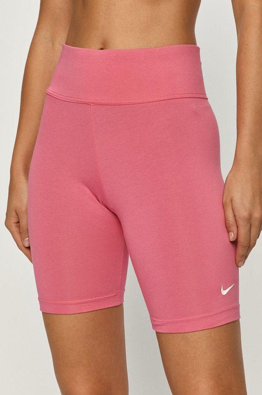 ostry różowy Nike Sportswear - Szorty Damski