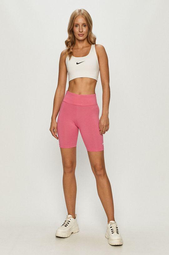 Nike Sportswear - Szorty ostry różowy
