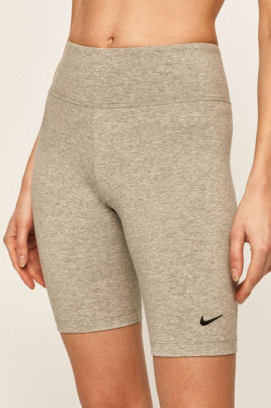 šedá Nike Sportswear - Kraťasy Dámský