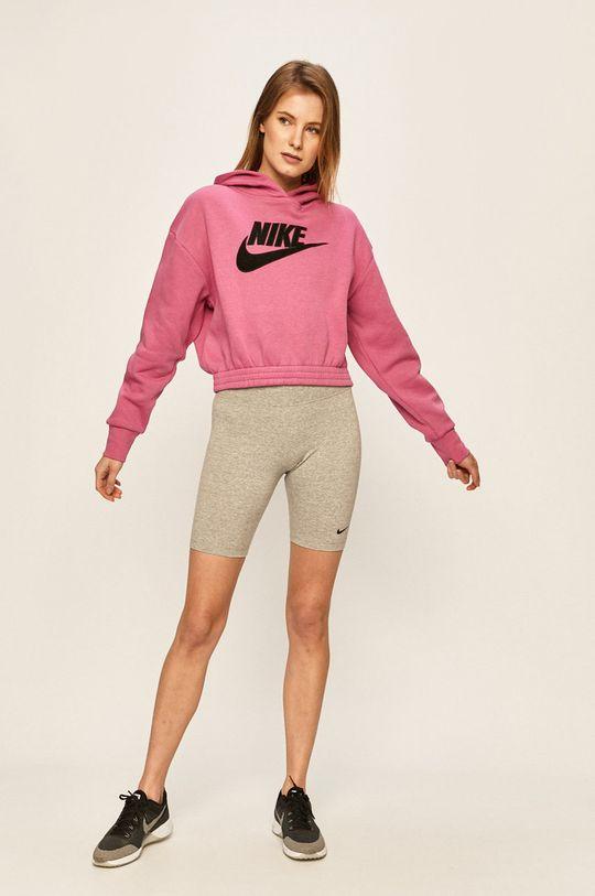 Nike Sportswear - Kraťasy šedá