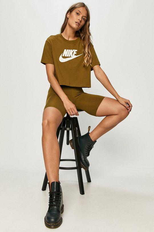 Nike Sportswear - Szorty oliwkowy