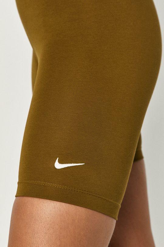 oliwkowy Nike Sportswear - Szorty