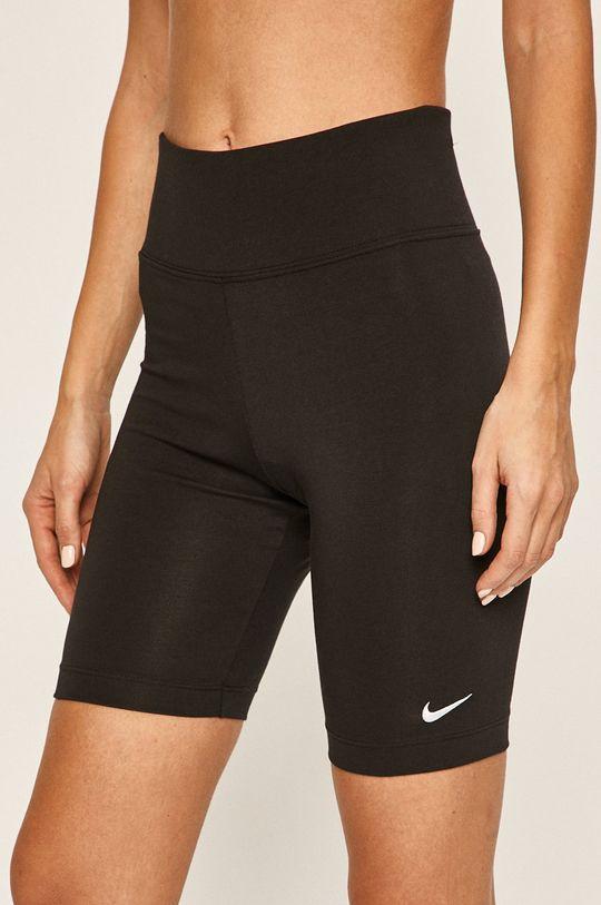 czarny Nike Sportswear - Szorty Damski