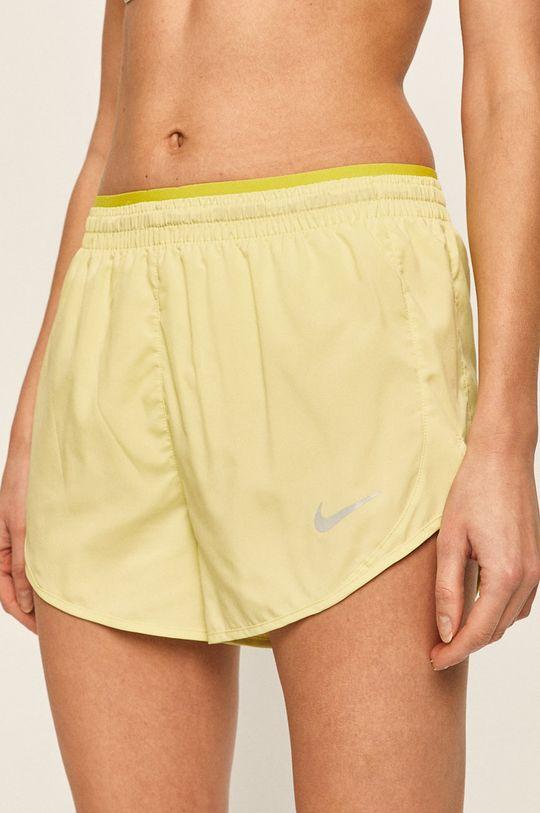 světle zelená Nike - Kraťasy Dámský