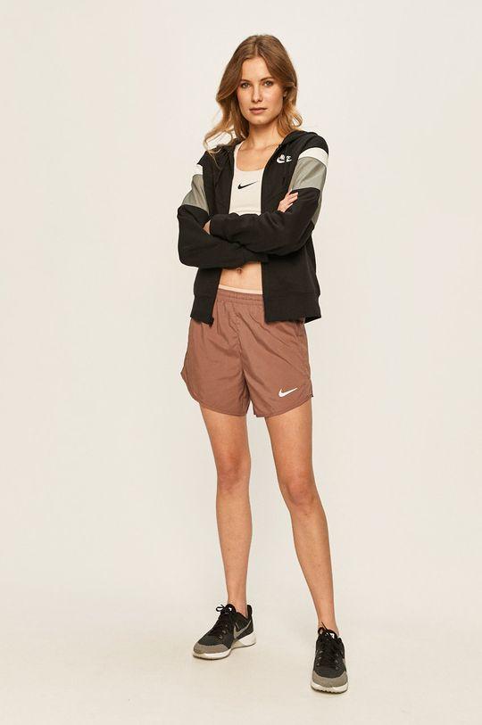 Nike - Kraťasy fialovo-růžová