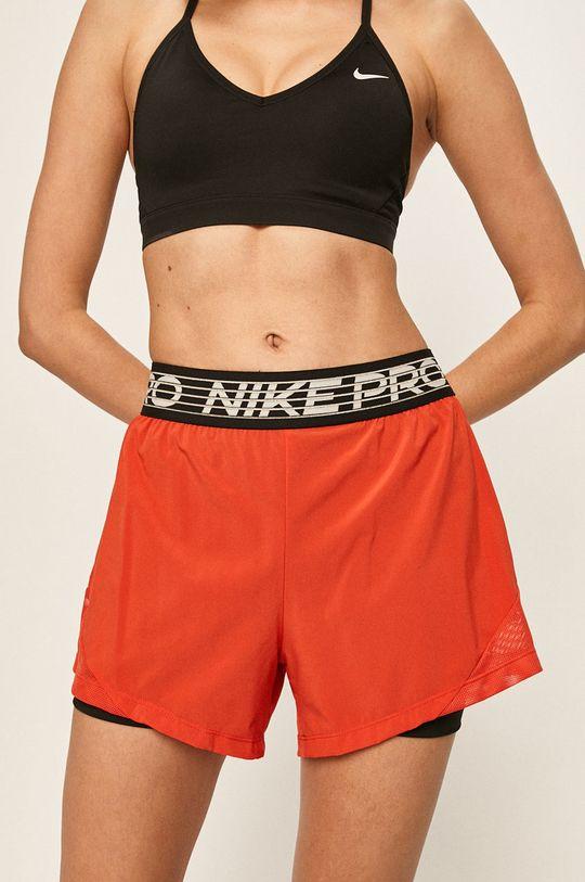 ostrá červená Nike - Kraťasy Dámský
