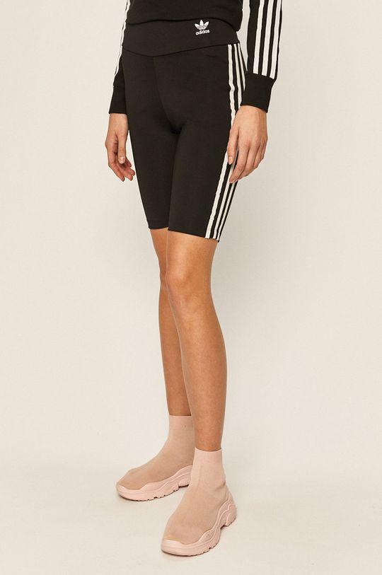negru adidas Originals - Pantaloni scuti De femei