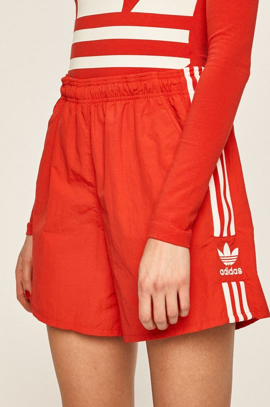červená adidas Originals - Kraťasy Dámský