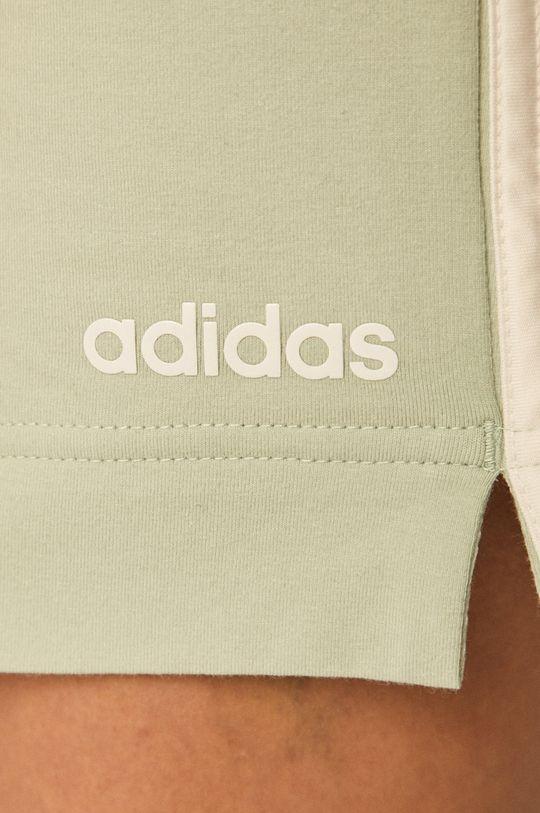 zelená adidas - Kraťasy