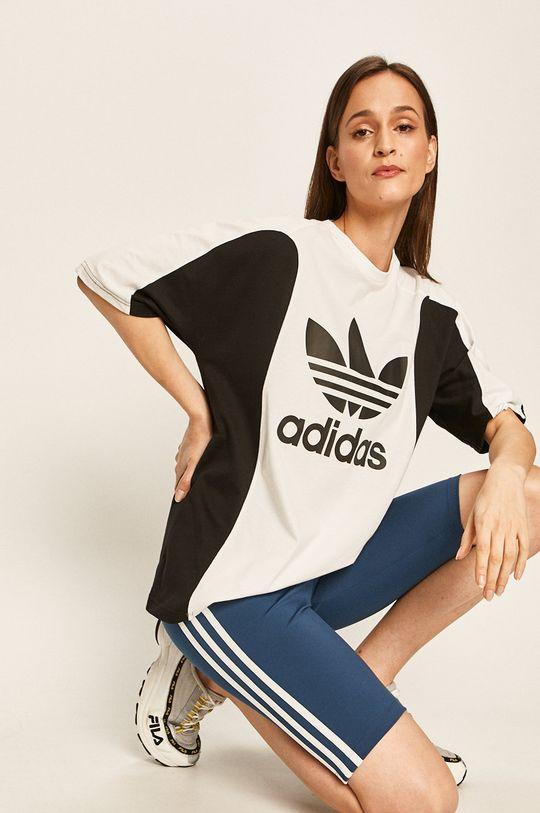 ocelová modrá adidas Originals - Kraťasy