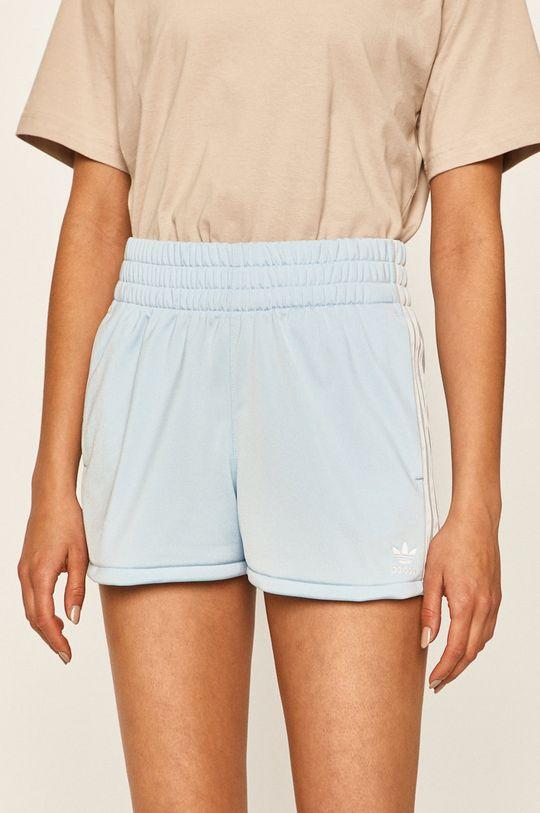 albastru deschis adidas Originals - Pantaloni scurti De femei
